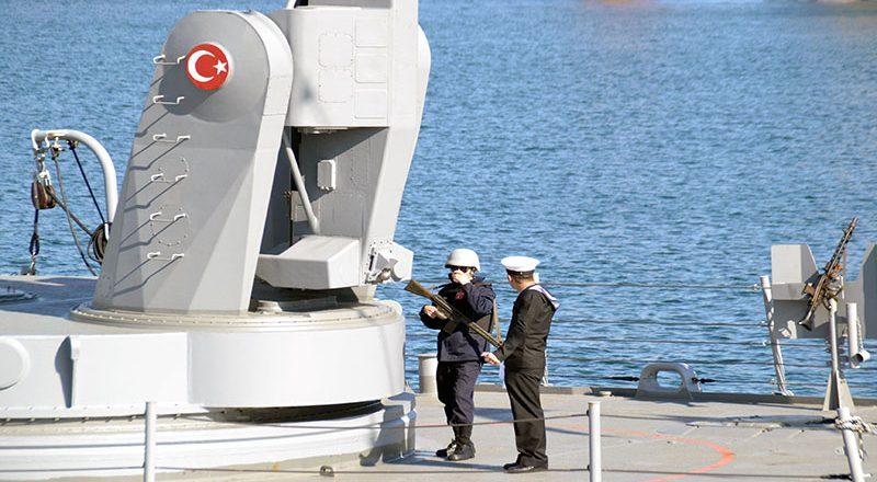 V Odessu zashla boevaja gruppa korablej VMS Turcii (3)