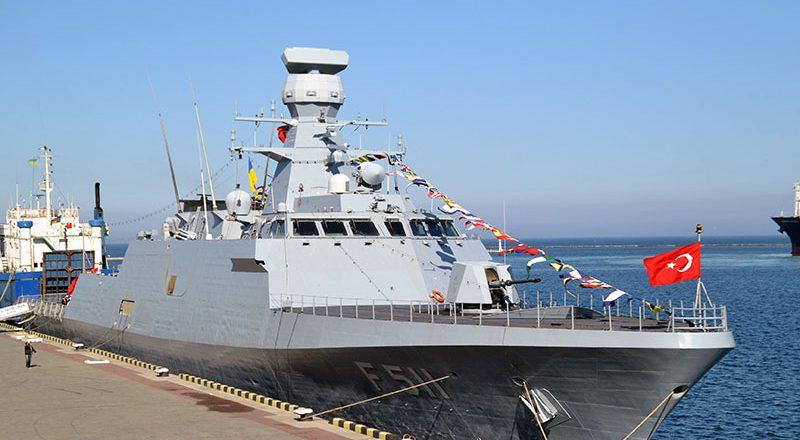 V Odessu zashla boevaja gruppa korablej VMS Turcii (9)