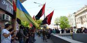 «Svoboda» i «Pravyj sektor» pochtili pamjat' odessitov geroev 2 maja (1)
