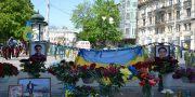 «Svoboda» i «Pravyj sektor» pochtili pamjat' odessitov geroev 2 maja (2)