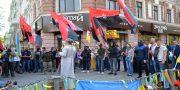 «Svoboda» i «Pravyj sektor» pochtili pamjat' odessitov geroev 2 maja (3)