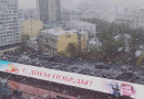 Москву накрыло аномальным снегом (ВИДЕО, ФОТО)
