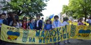 Desjatyj Megamarsh v vyshivankah v Odesse (1)