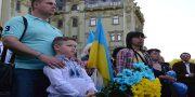 Odessity pochtili pamjat' pavshih ukrainskih patriotov (2)