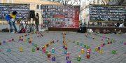 Odessity pochtili pamjat' pavshih ukrainskih patriotov