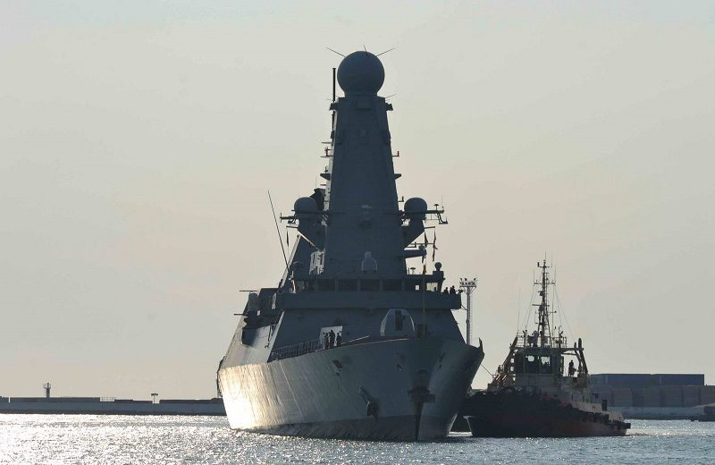 военные корабли НАТО в Одессе