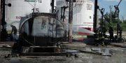 Pod Odessoj na neftebaze vzorvalsja benzovoz (7)