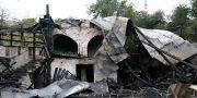 V Odesse sgorela dotla krepost' v Djukovskom parke (2)
