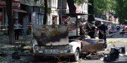 V centre Odessy vzorvalsja avtomobil' VAZ-2101 (2)