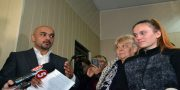 Natal'ja Janchik i nardep Mustafa Naem