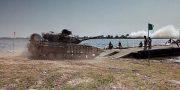 Tanki VSU forsirujut Dnepr (2)