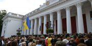 V Odesse trebovali otstavki mjera (13)