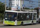 В Крыму молния попала в полный пассажиров троллейбус