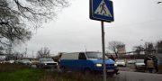 V Odesse zhiteli Shkodovoj gory perekryli proezd v «suhoj port» i trebujut otoplenija (2)