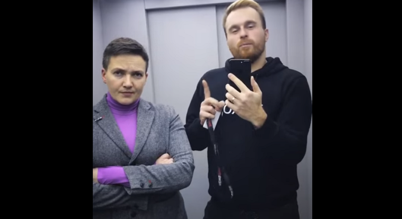 Савченко назвала настоящего «мужика» в украинской политике (ВИДЕО)