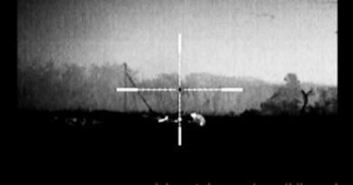 В сети показали, как украинский снайпер  отстреливает террористов по одному (ВИДЕО)