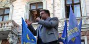 V Odesse patrioty marshem otprazdnovali pobedu nad russkim mirom (6)