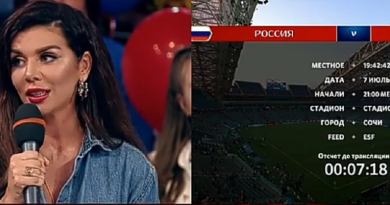 Украинская певица в прямом эфире рос-ТВ поддержала сборную России (ВИДЕО)