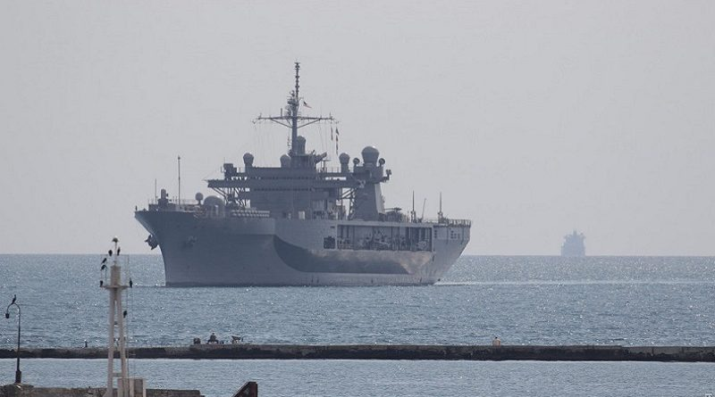 Корабли и самолеты НАТО в Одессе (ФОТО)