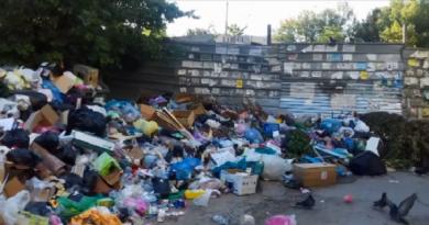 Крымчане в панике: Симферополь утопает в мусоре (ВИДЕО ФОТО)
