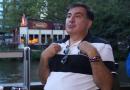 Саакашвили обозвал Порошенко деб*лом (ВИДЕО)