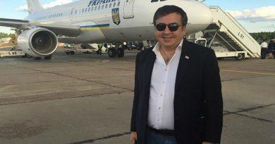 «Прилечу на самолете в Борисполь» —  Саакашвили рассказал, когда вернется в Украину