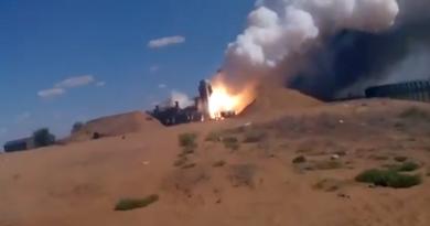 Сеть взорвало видео, как российские солдаты подорвали комплекс «С-300» своей же ракетой  (ВИДЕО)
