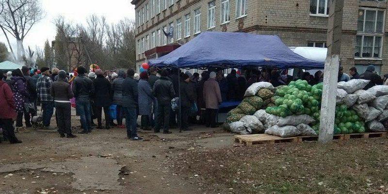 Выборы главарей на Донбассе: в  ДНР лидирует картошка, а в ЛНР капуста (ФОТО)