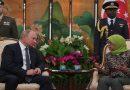 Чаепитие Путина в Сингапуре обсуждают в сети (ФОТО)