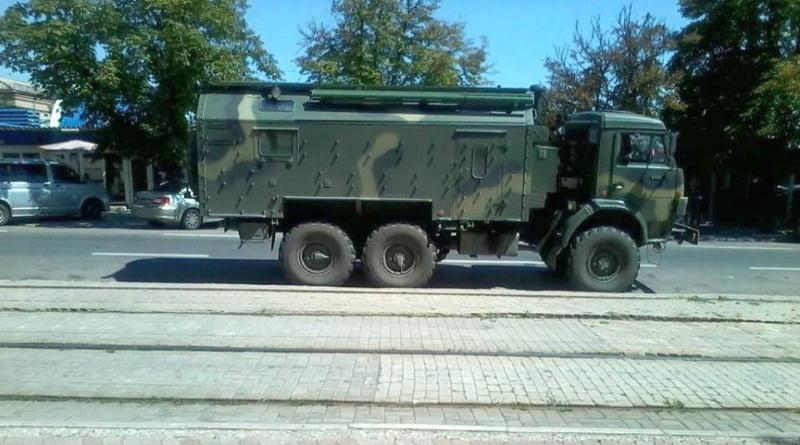 На Донбассе обнаружена новейшая российская военная техника (ФОТО)