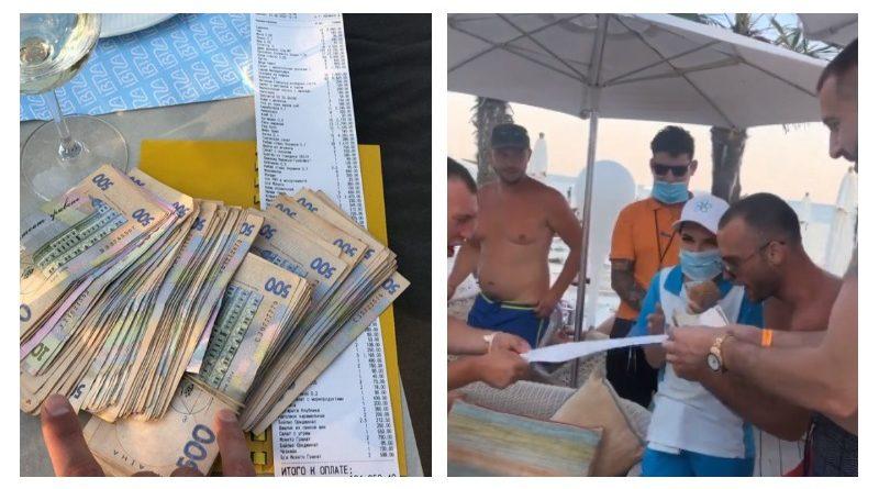 Гульнул по-богатому: харьковский бизнесмен потратил в одесском клубе 124 тысячи гривен, видео