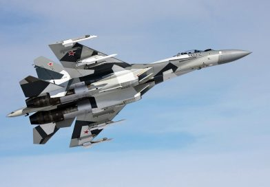 На России утонул в море новейший истребитель Су-35